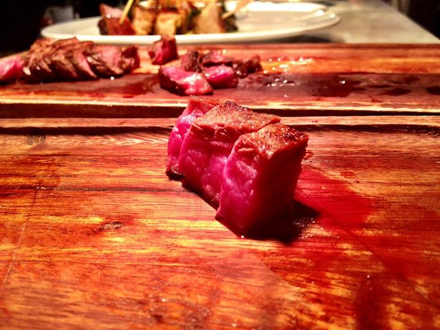 A close up of sirloin steak - Smiths Spitalfields