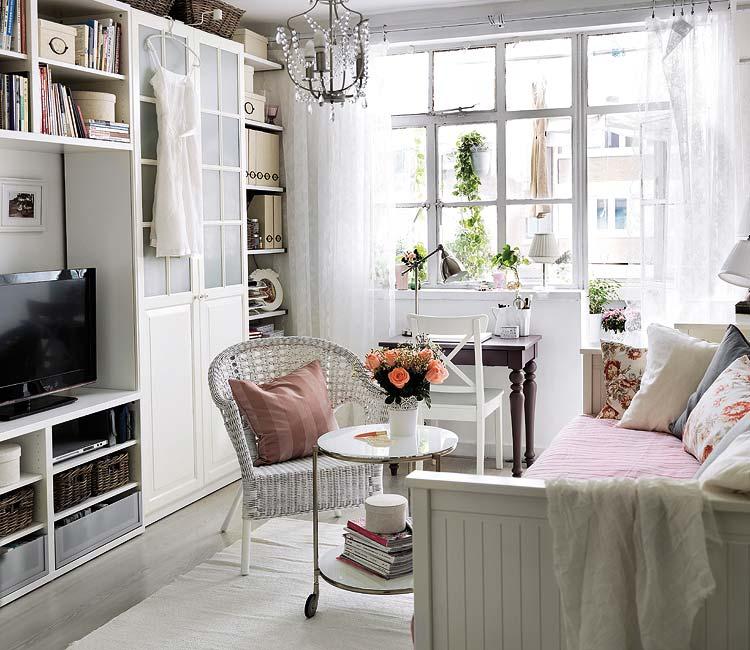 Mi casa decoracion ikea salones peque - Ideas salones ikea ...