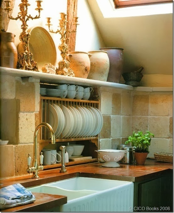French Country Kitchen Sink: The Centric Home: Boho Kitchen Decor