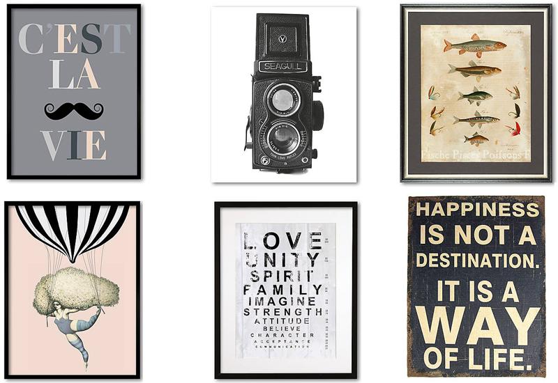 dekoracje do domu, gdzie kupić grafiki, sklep z dekoracjami