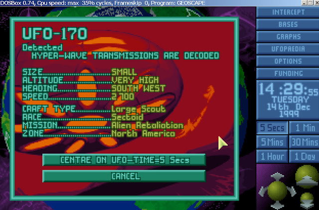 UFO: Enemy Unknown - Hyper-Wave Decoder Screenshot