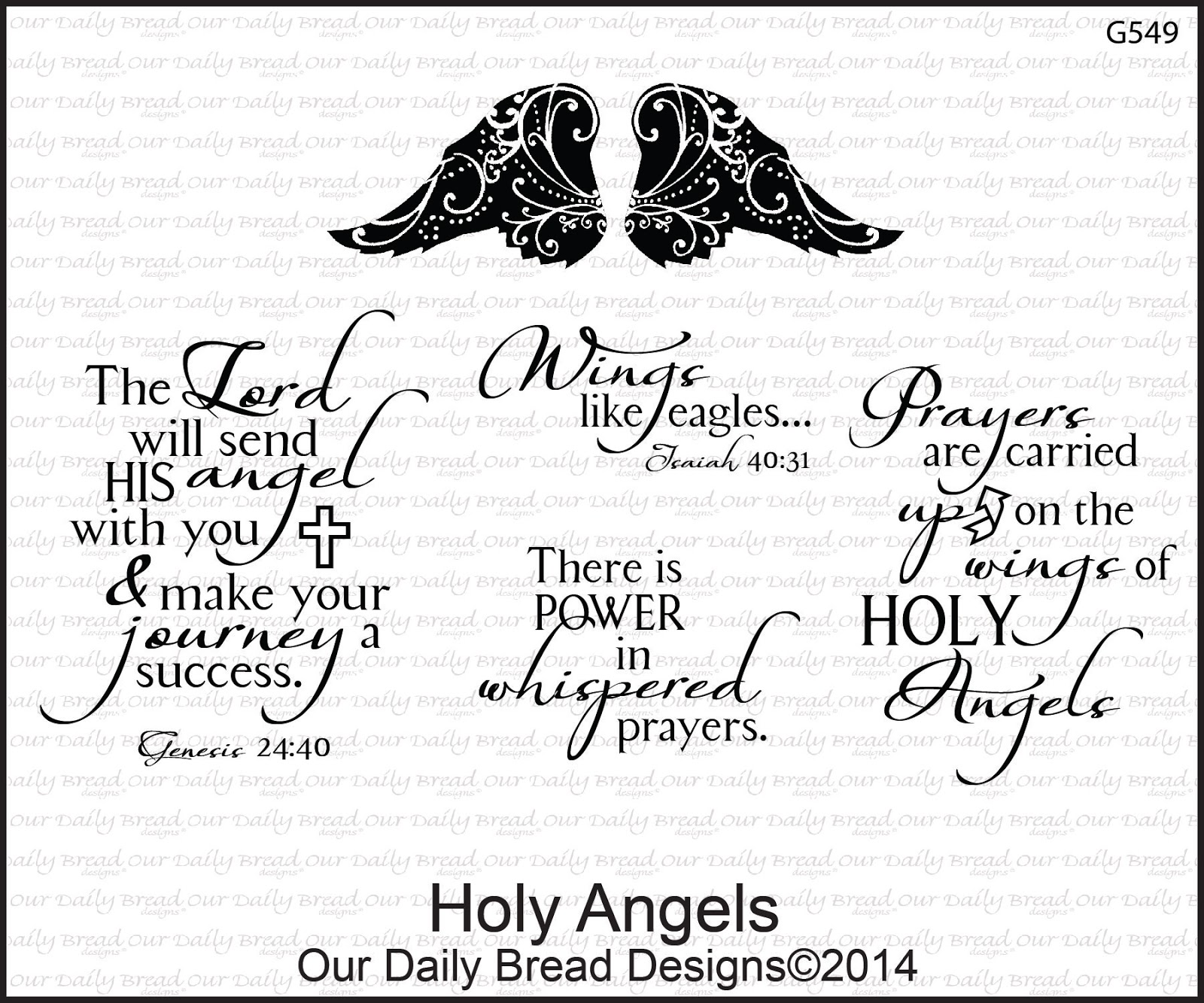 Stamps - Our Daily Bread Designs Holy Angels