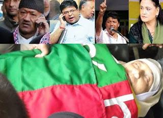 Madan Tamang Murder case Bimal gurung asha gurung roshan giri harka bahadur  name in CBI Chargesheet