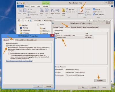Meningkatkan Performa Penyimpanan Dan Akses Data Dengan Disk Write Chaching
