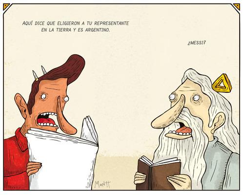 El representante argentino de Dios en la tierra?