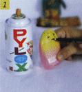 Cara membuat Boneka Jawa Dari Botol Bekas step 1