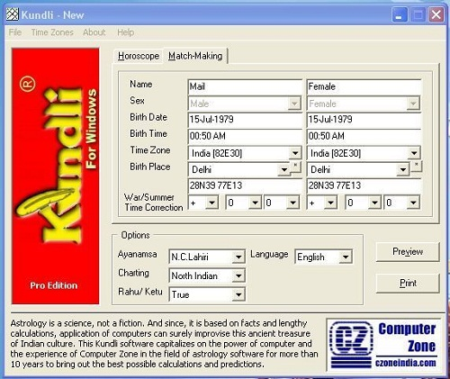 kundli software free  compatible with windows 7