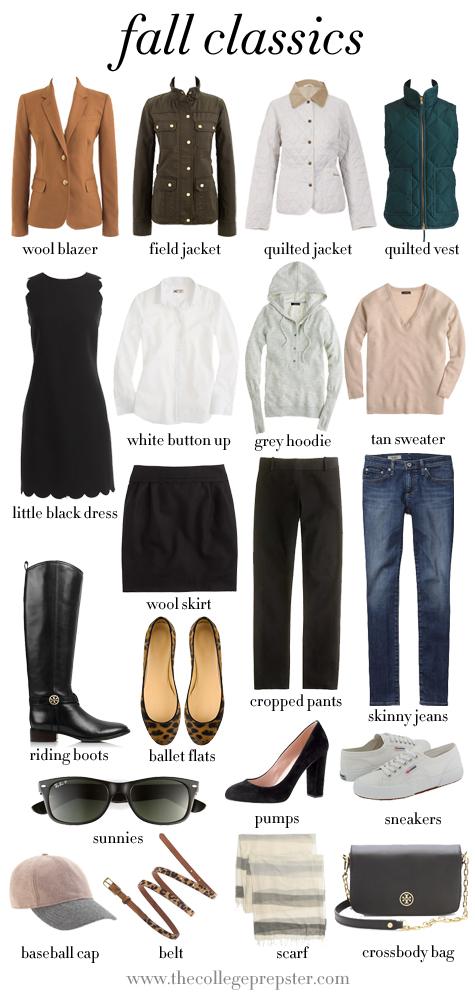 classic wardrobe essentials 1