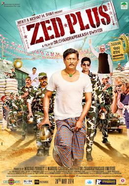 Poster of Zed Plus 2015 720p Hindi DVDRip Full Movie