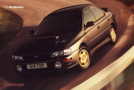 Subaru Impreza I, 1st, 1-gen, zdjęcia, japoński sportowy samochód, kultowy, 日本車, スポーツカー, スバル, edition version Catalunya