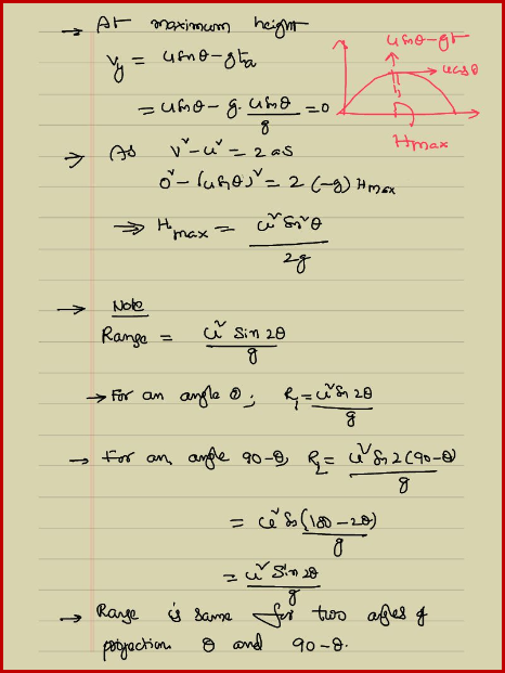 how to find total time in projectile motion