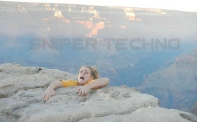 Heboh Foto Candaan di Grand Canyon di Internet