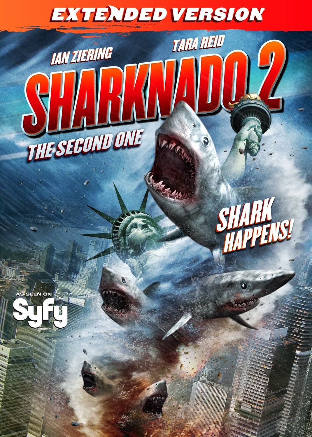 Enter To Win Sharknado 2 DVD
