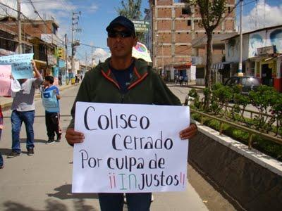 A INICIOS DE AÑO CERRARON EL COLISEO...