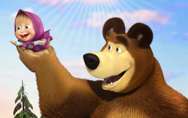 Cartone-animato-Masha-e-Orso