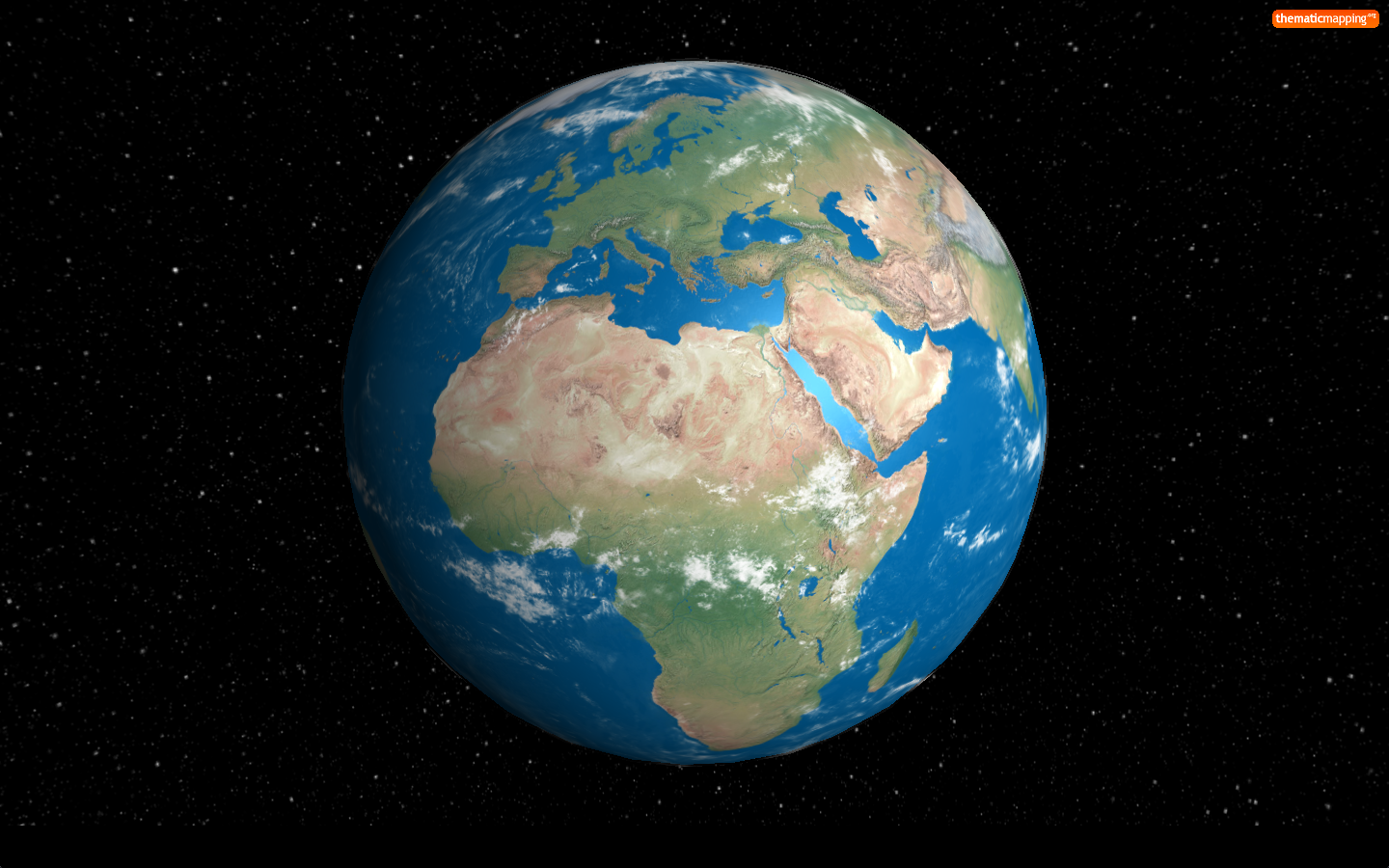 Master maps creating a webgl earth with for 3d outer space map