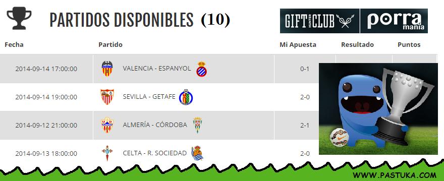 Disfruta de la liga española acumulando puntos en Gift-Hunter-Club