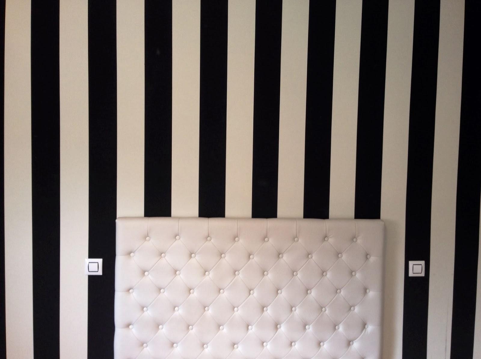 Pinturas veriax s l paredes a rayas - Paredes a rayas verticales ...