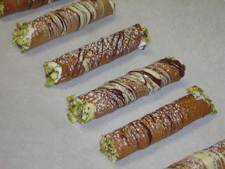 how to make cannolis without cannoli tubes