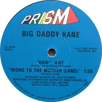 Big Daddy Kane – Raw (VLS) (1987) (192 kbps)