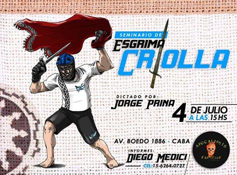 Seminario de Esgrima Criolla