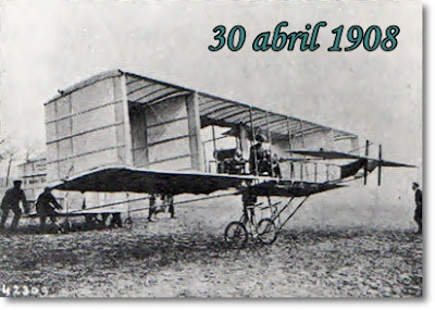 Las alas en la historia (1908-1909)