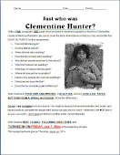 Clementine Hunter