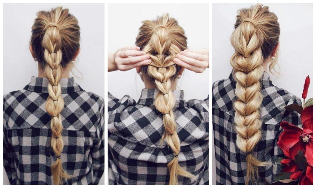 Peinados bonitos y f ciles con colas de caballo - Como hacer peinados faciles y bonitos ...