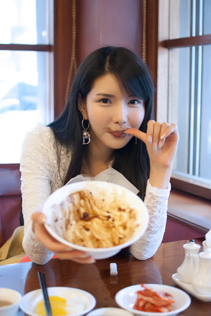 5 Lunch with Cha Sun Hwa-very cute asian girl-girlcute4u.blogspot.com