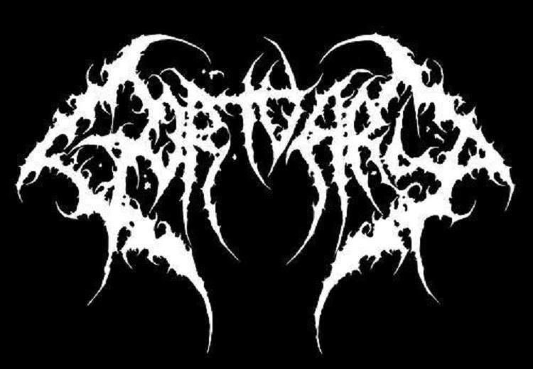 metal band logos gortuary