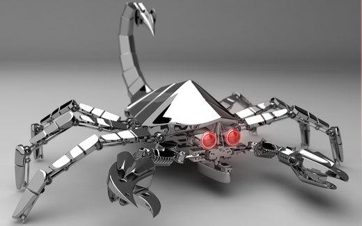 Terminator Scorpion por Hayden-Zammit