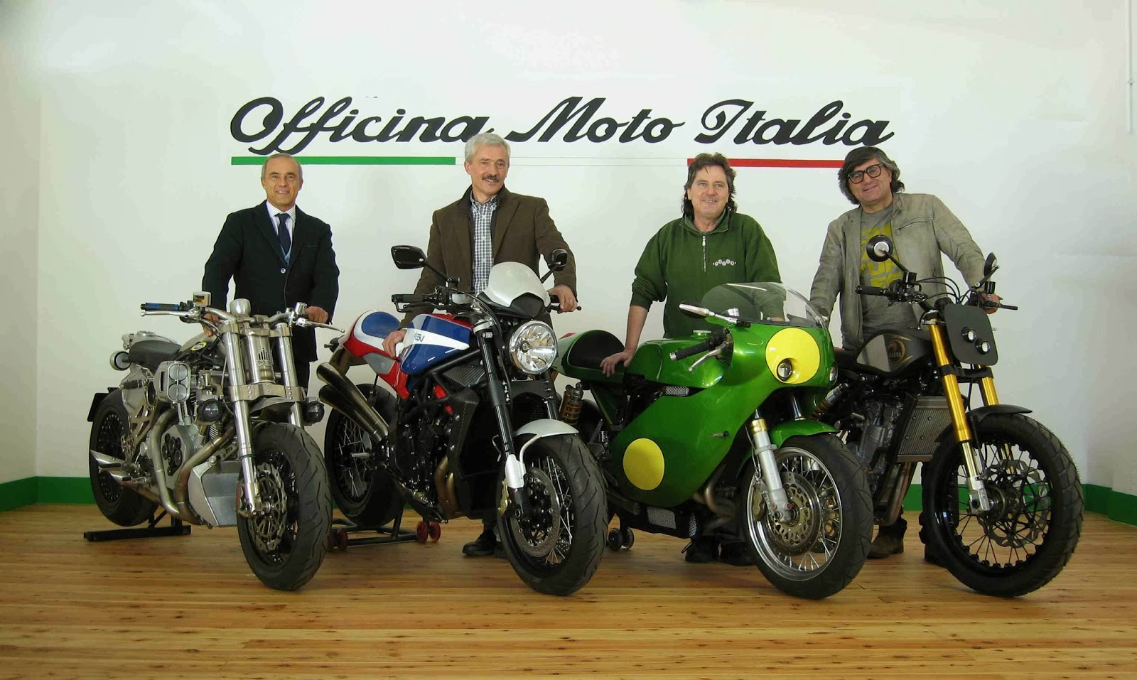 Italian motor magazine officina moto italia for Officina moto italia
