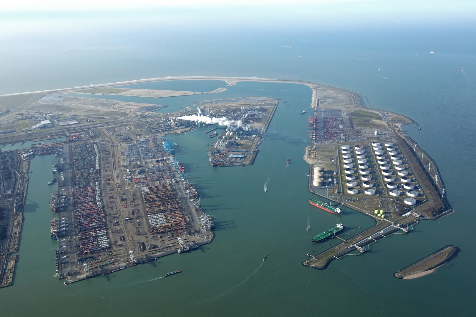 Largest Container Port in Europe