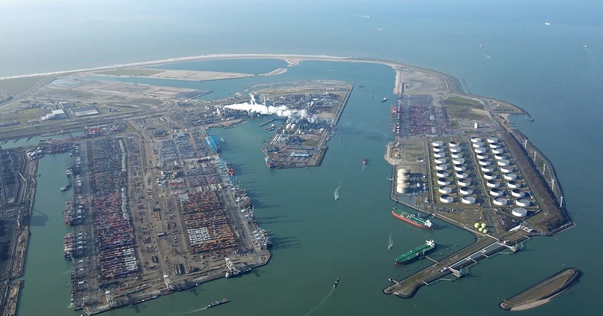 ROTTERDAM CONTAINER TERMINAL | Marine Vessel Traffic