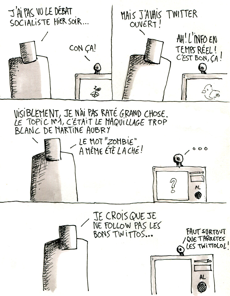 Le débat des primaires PS vu par la lorgnette de Twitter