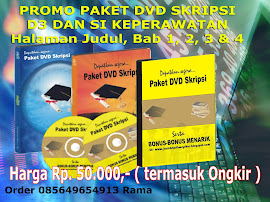JUAL SKRIPSI KEPERAWATAN