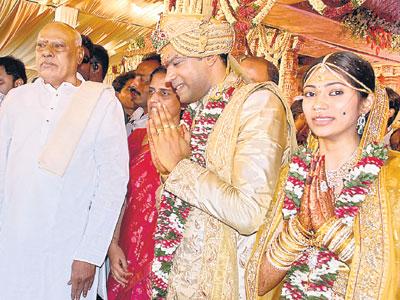 Wedding Of Film Stars
