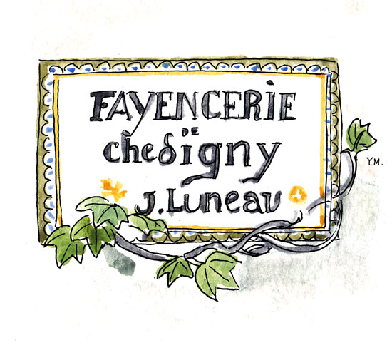 Fayencerie de Chédigny by Yukié Matsushita