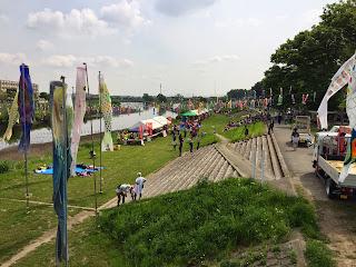 第12回不動橋こいのぼりフェスティバル《東日本復興支援イベント》を開催