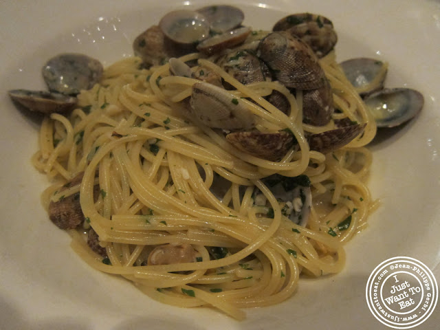 Image of Linguine a la Vongole at Montpeliano Italian restaurant in London, England