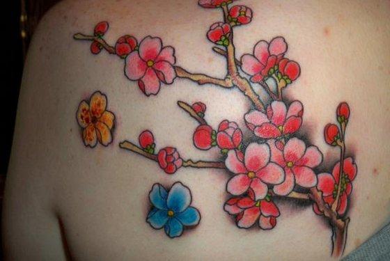 tatuagem flor nas costas,tatoo,fotos,tatuagens delicadas,femininas