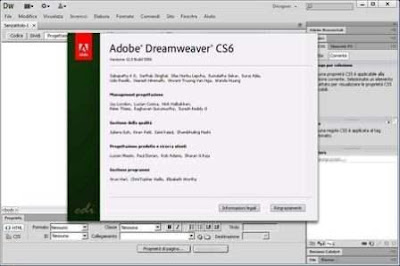 Adobe Dreamweaver CS6 is a software for web designing. . With the help of