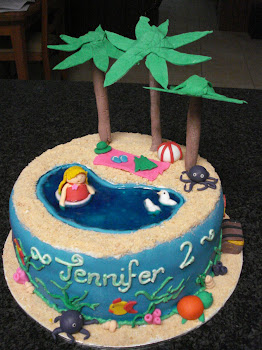 Tropical Island Cake