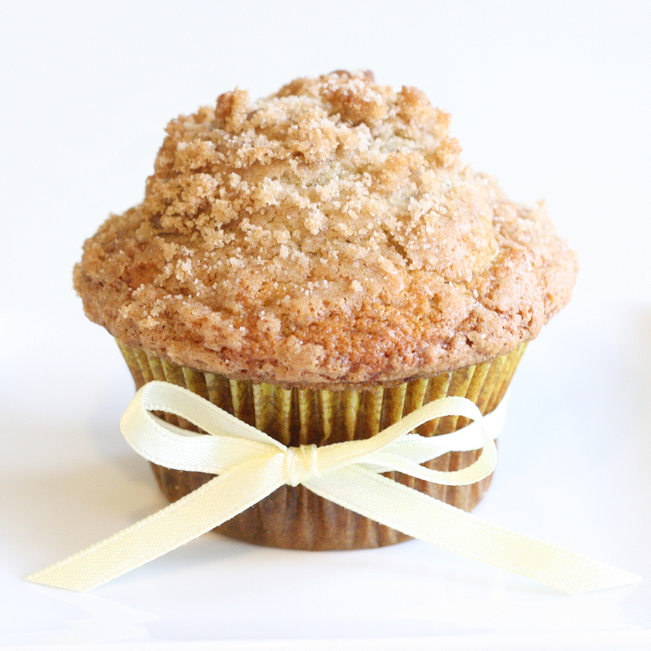 Riches to Rags* by Dori: Banana Crumb Muffins