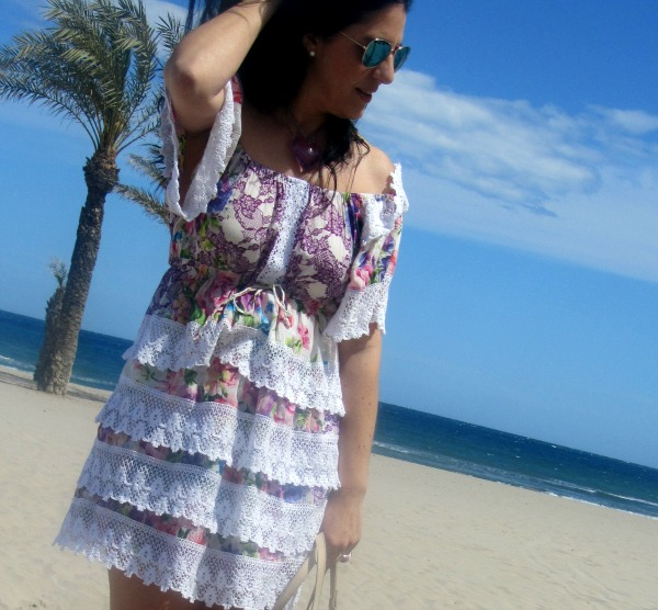 Precioso vestido estampado floral PrimSecret