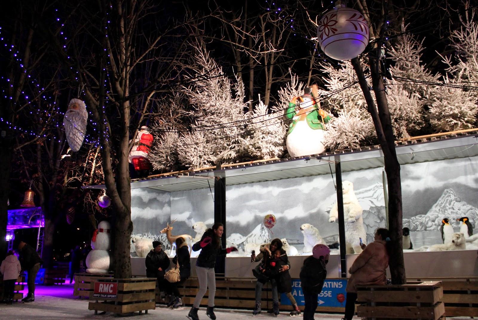 Mercadillo navideño París