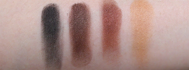 burberry complete eye palette dark spice swatch