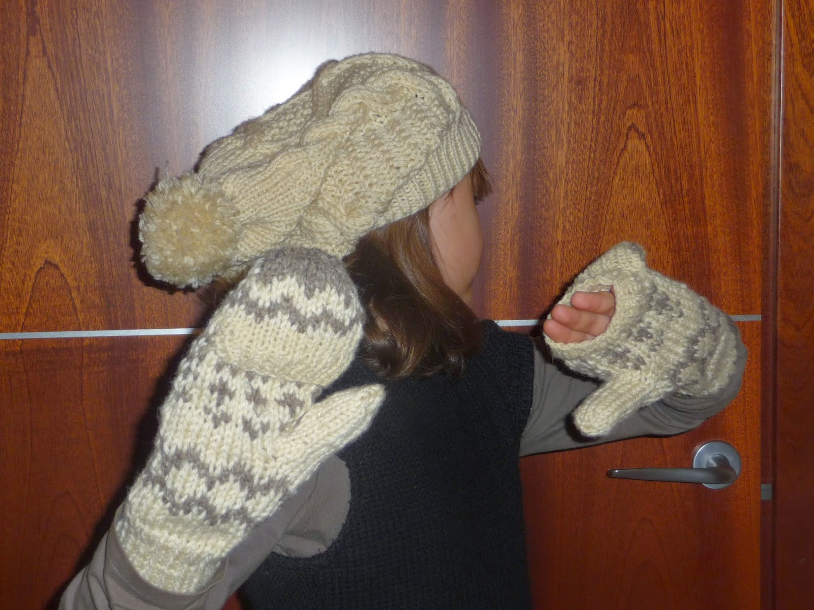 jak zrobić rękawiczki z klapką