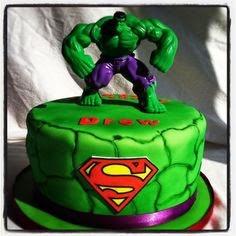 Tortas de Hulk, parte 1