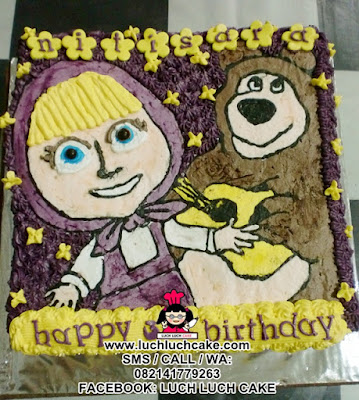 Kue Tart Masha and The Bear (REPEAT ORDER)